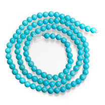 Sleeping Beauty Turquoise 3.5mm Rounds SBTRD4a1