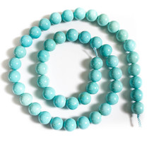 Sonoran Blue Turquoise(Mexico)8mm Rounds -SBR8c1