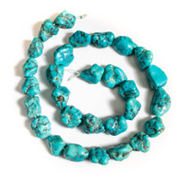 Sleeping Beauty Turquoise Nuggets- 8x12mm SBNM8