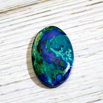 Azurite & Malachite -36x24x5mm (Bisbee,Arizona) B112