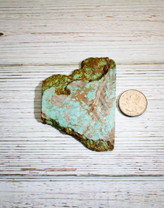 #8 Mine Turquoise Rough(Stabilized) 8R7a
