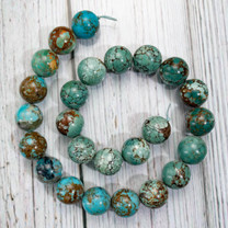 Turquoise (China) 16mm Rounds TCR16a