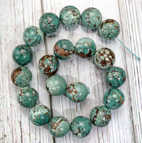 Turquoise(China) 18mm Rounds TCR18a