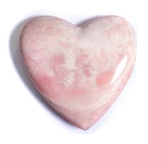 Pink Opal Heart-Peru 48x48x1mm POH1