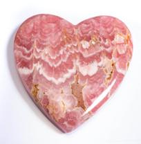 Rhodochrosite Heart -Argentina 48x50x5mm RH9