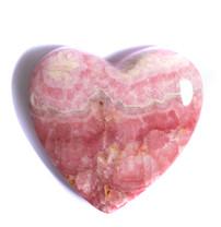 Rhodochrosite Heart -Argentina 48x50x9mm RH10