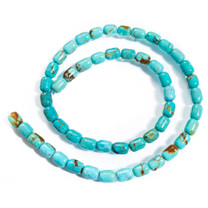 Number Eight Turquoise Barrel(Nevada) 8x6mm N8B1a