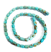 Number Eight Turquoise Barrel(Nevada) 8x6mm N8B5