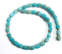 Number Eight Turquoise Barrel(Nevada) 8x10mm N8B1