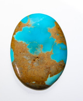 Sonoran Gold Turquoise - 28x31x6mm - SGC5