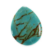 Armenian Turquoise(Stabilized) 39x30x6mm AT11