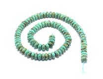 Baja Turquoise(Mexico) 8mm Rondell  BT1a