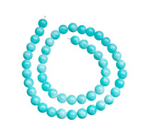 Amazonite(Peru) 8mm Rounds AM1