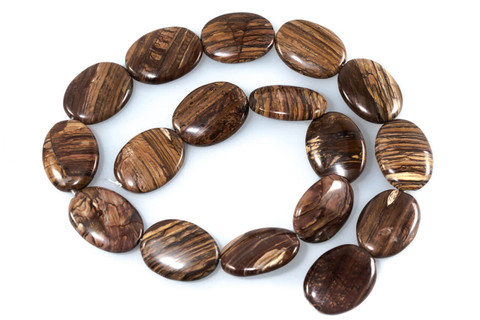 Biggs Jasper- 25x18x6mm Ovals(Oregon)
