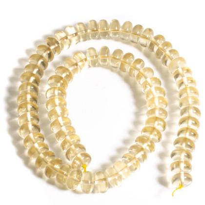 Golden Labradorite(Bytownite) 10mm Rondells GLR10