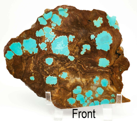 #8 Mine Turquoise Slab (Stabilized) 8S14