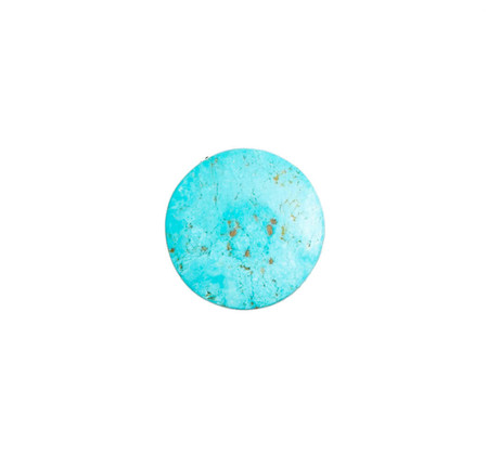 #8 Mine Turquoise Cabochon(Stabilized) 8SC6
