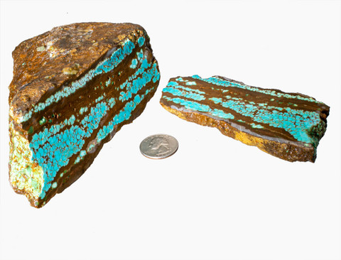 #8 Mine Turquoise Rough(Stabilized) 8R6a