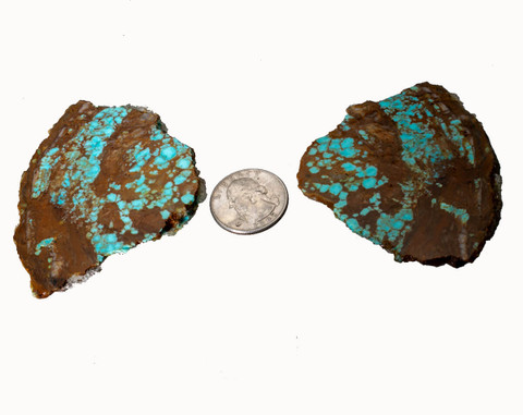 #8 Mine Turquoise Rough(Stabilized) 8R8a