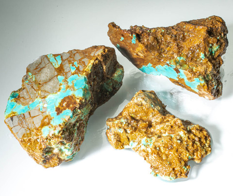 #8 Mine Turquoise Rough(Stabilized) 8R6b1