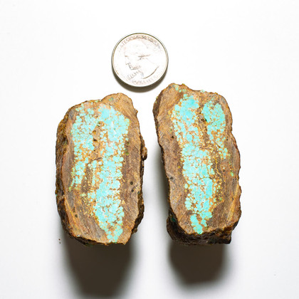 #8 Mine Turquoise Rough Slabs(Stabilized) 8RR3a