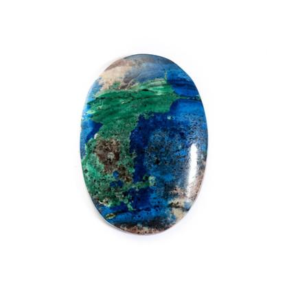 Azurite-Malachite(Jerome,Az) 21x30x4mm AZJ10a