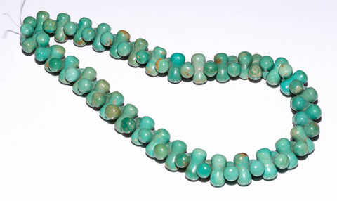 Sonoran Green Turquoise Peanut Shape  CTP1