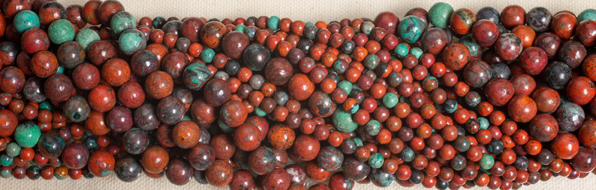 sonoran sunrise beads,cuprite,sonoran sunset