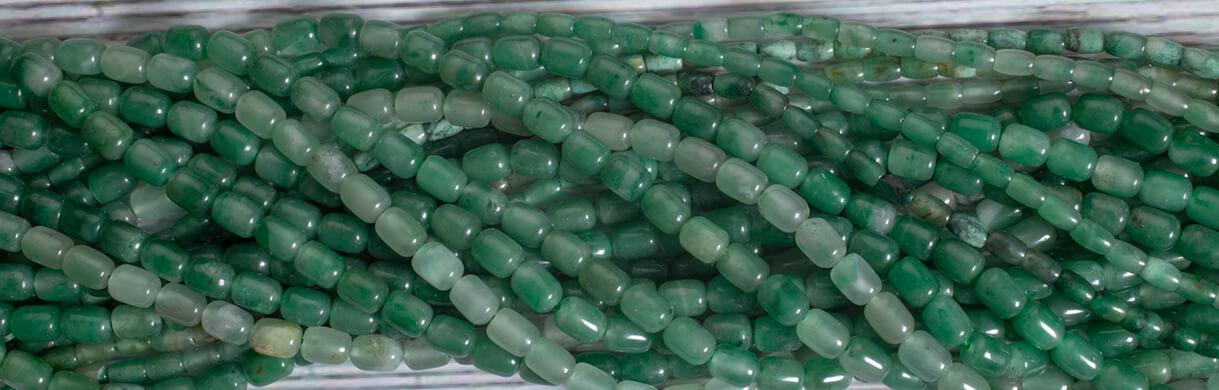 green chalcedony,beads
