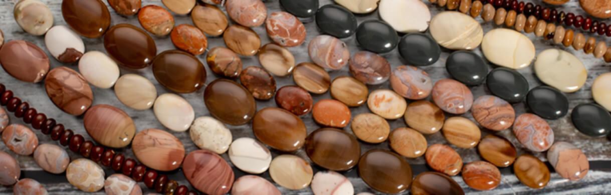 beads half strands