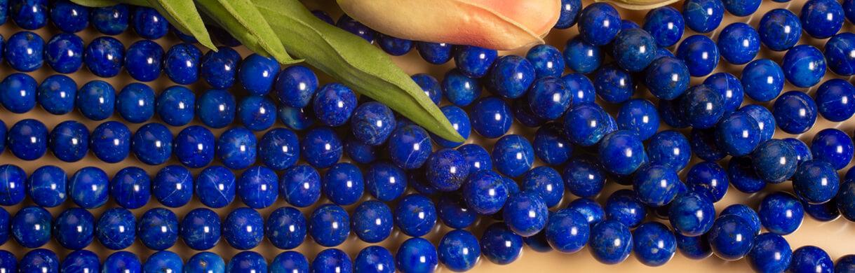 Lapis(Afghanistan),Lapis beads