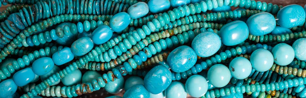 urquoise beads mexico