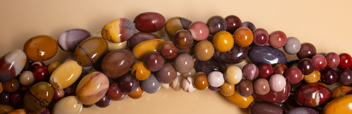 Mookaite Beads,Mookaite Australia
