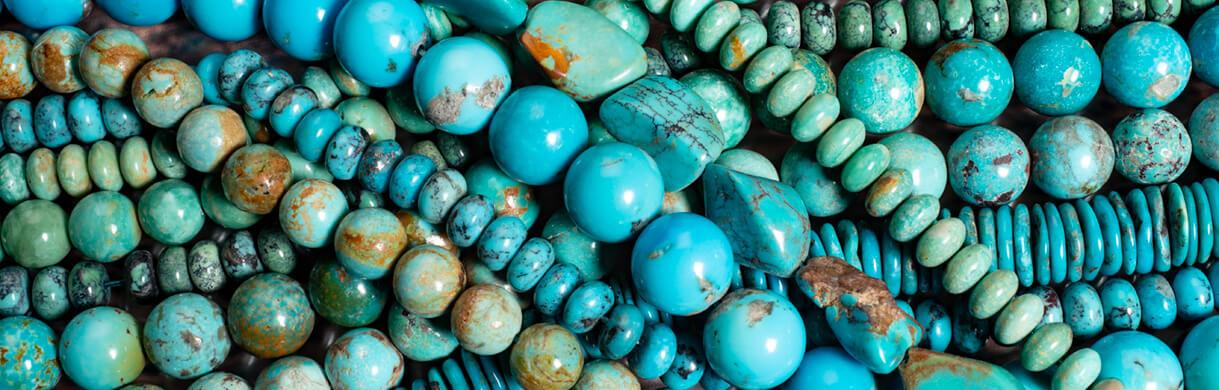 urquoise beads