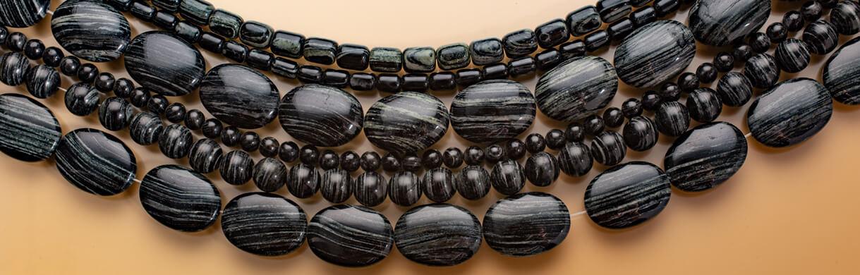zebra jasper,arizona,beads