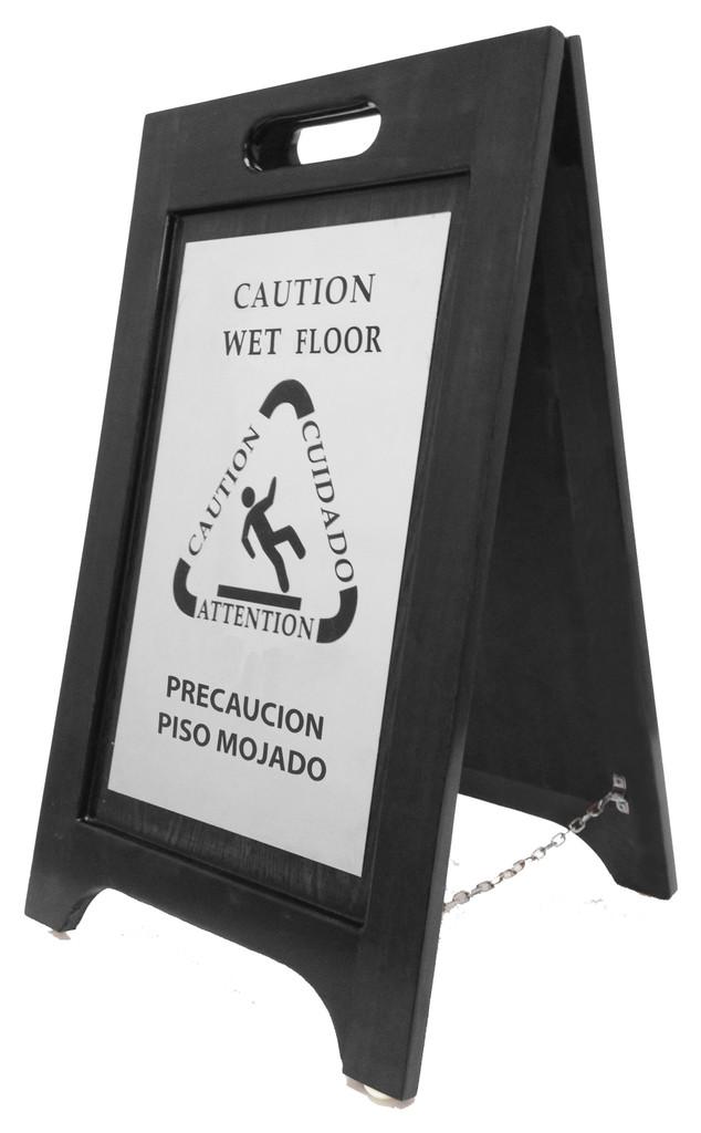 Wet Floor Sign- 2 pack