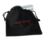 Black hair dryer bag w/ Red embroidery - 30 pack