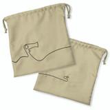 Hair Dryer Bag, Beige - 10 pack