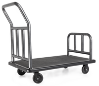 One Box Coastal Utility Bellman's Cart- Rust Resistant Finish