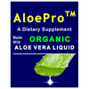 AloePro™ Dietary Supplement 16 fl oz (475 mL) Organic Aloe Vera Liquid