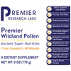 Premier Wildland Pollen Raw unheated pollen --- Ancient Super Nutrition for Super Health and Longevity