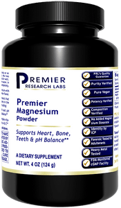 Magnesium Premier - 4 Oz. Powder Easily absorbed form of magnesium - nerve, bone, pH, heart relaxation support