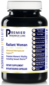 Radiant Woman Dietary Supplement 90 Plant-Source Capsules Advanced Menopause Support*