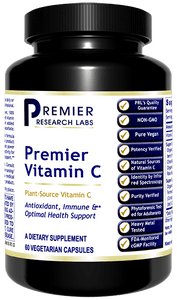 Premier Vitamin C Complex Natural source vitamin C & synergists - optimal health, vitality, immune function