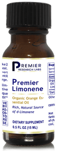 PREMIER LIMONENE - pH-balanced orange extract - emulsifies fats & oils, fast minor pain relief, better joint flexibility