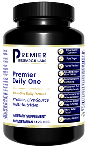 Premier Daily One Complete Super Food all-in-one formula - contains every nutrient necessary for life