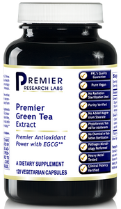 Green Tea Extract, Premier Contains EGCG Supports weight management Promotes cardiovascular health (120 caps/bottle) NEW