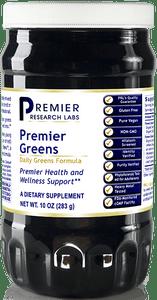 Premier Greens Powder Complete Super Food Blend - live-source Vitamins & Minerals for high energy, brain & full body rejuvenation