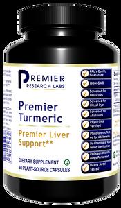 Turmeric, Premier, 60 Plant-Source Capsules Premier Liver Support*