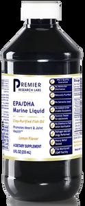 EPA/DHA Marine Liquid Dietary Supplement 8 fl oz (235 mL) Clay-Purified Fish Oil